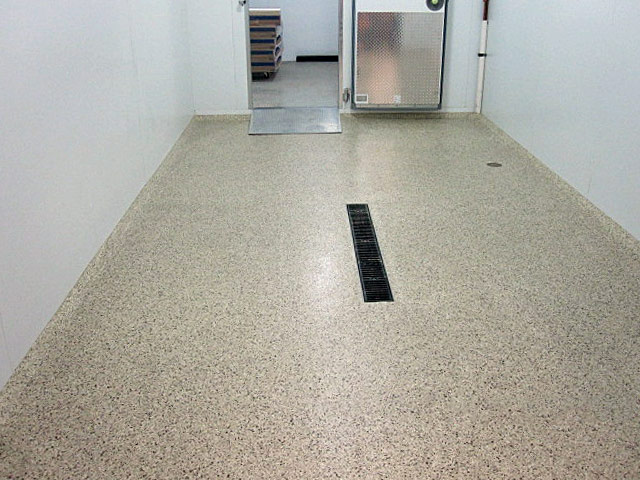 Seamless Flooring System for Refrigerated Storage Areas