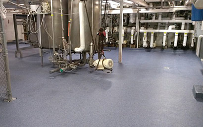 MMA Flooring System in Food Processing Facility