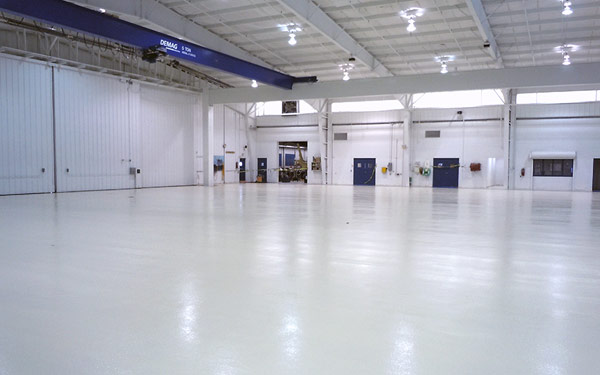 hangar floor coating gallery