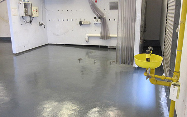 chemical processing flooring