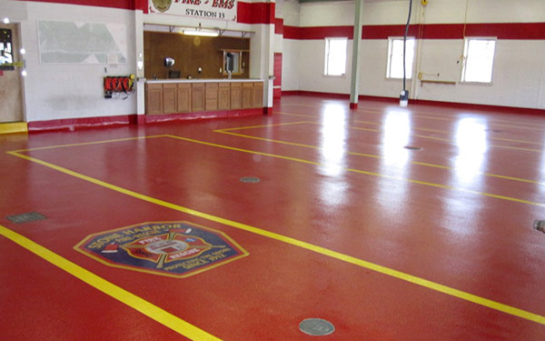 firehouse floor refinishing