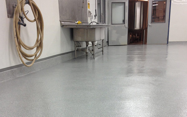 laboratory floor refinishing