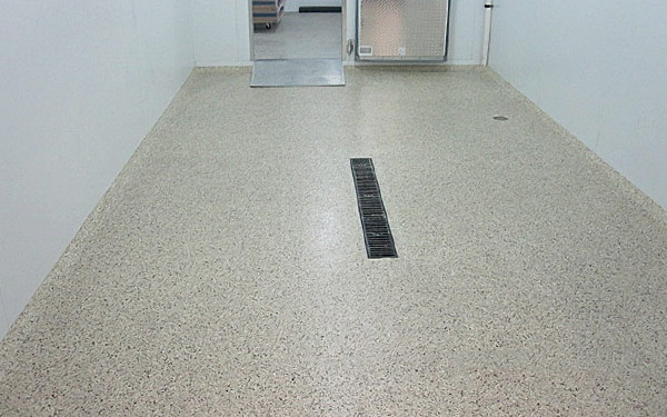 polymeric floor refinishing